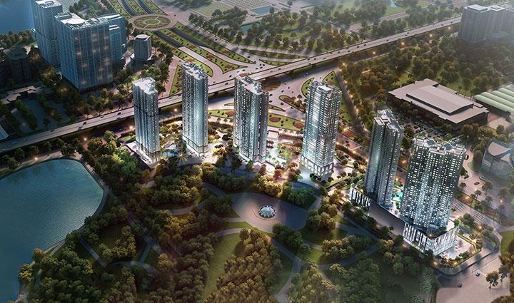 Công trình Vinhomes D'capitale, Trần Duy Hưng.